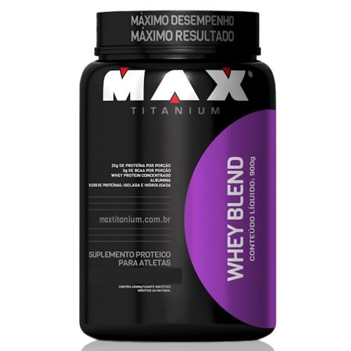 Whey Blend - 900g Chocolate - Max Titanium