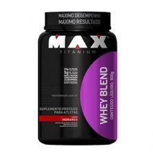 Whey Blend - 900g Morango - Max Titanium