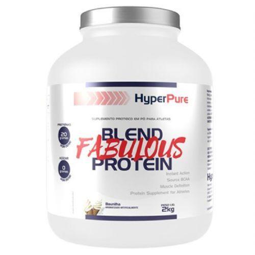 Whey Blend Fabulous Protein - 2000g Baunilha - HyperPure no Atacado