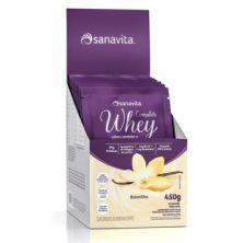 Whey Complete - 15 Sachês de 30g Baunilha - Sanavita*** Data Venc. 08/10/2020