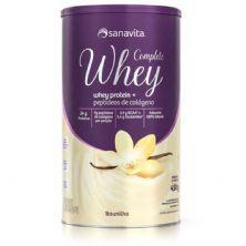 Whey Complete - 450g Baunilha - Sanavita