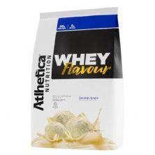 Whey Flavour - 850g Chocolate Branco - Atlhetica Nutrition