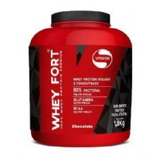 Whey Fort - 1800g Chocolate - Vitafor