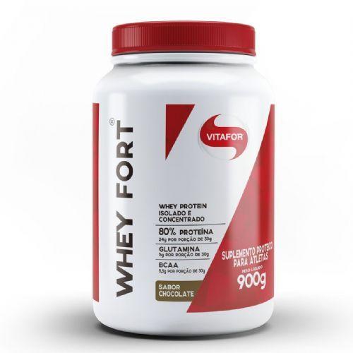 Whey Fort - 900g Chocolate - Vitafor no Atacado