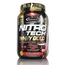 Whey Gold Nitro Tech - 1130g Strawberry - Muscletech