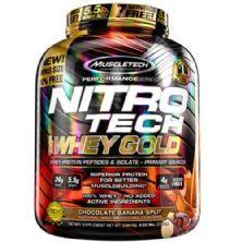 Whey Gold Nitro Tech - 2510g Chocolate Banana Split - Muscletech