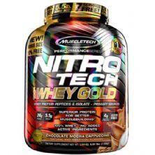 Whey Gold Nitro Tech - 2510g Chocolate Mocha Cappuccino - Muscletech