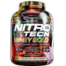Whey Gold Nitro Tech - 2510g Classic New York Berry Cheesecake - Muscletech
