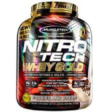 Whey Gold Nitro Tech - 2510g Cookies and Cream - Muscletech