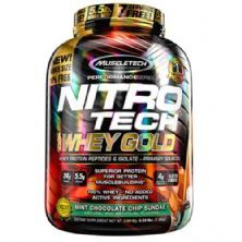 Whey Gold Nitro Tech - 2510g Mint Chocolate Chip Sundae - Muscletech
