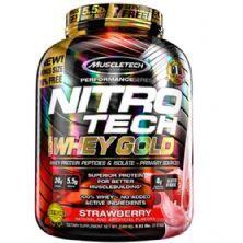 Whey Gold Nitro Tech - 2510g Stawberry - Muscletech