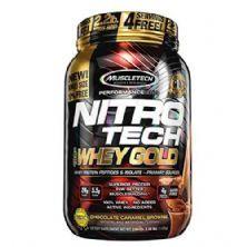 Whey Gold Nitro Tech - 999g Chocolate Caramel Brownie - Muscletech