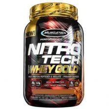 Whey Gold Nitro Tech - 999g Chocolate Peanut Butter - Muscletech