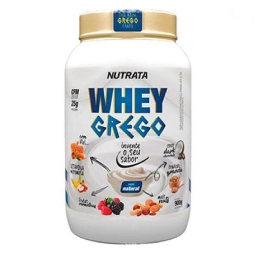 Whey Grego - 900g Natural - Nutrata no Atacado