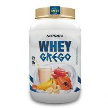 Whey Grego - 900g Vitamina de Frutas - Nutrata