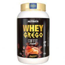 Whey Grego Coffee Cream - 900g Café com Caramel - Nutrata