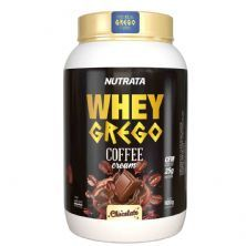 Whey Grego Coffee Cream - 900g Café com Chocolate- Nutrata