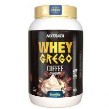 Whey Grego Coffee Cream - 900g Café com Vanilla - Nutrata