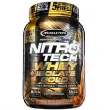 Whey Isolado Gold Nitro Tech - 907g Duble Rich Chocolate - Muscletech