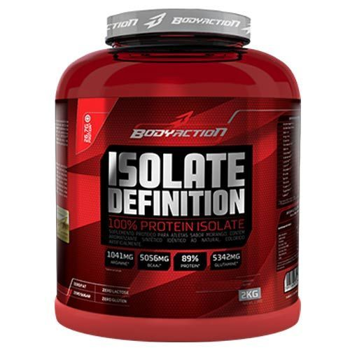 Whey Isolate Definition - 2000g Chocolate - Body Action ...