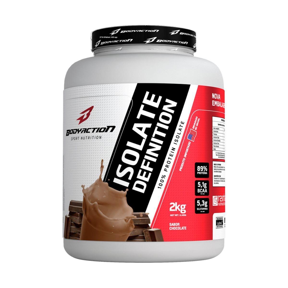 Whey Isolate Definition - 2000g Chocolate - BodyAction ...