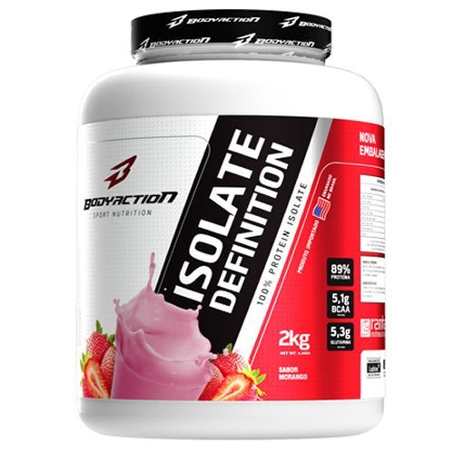 Whey Isolate Definition - 2000g Morango - BodyAction