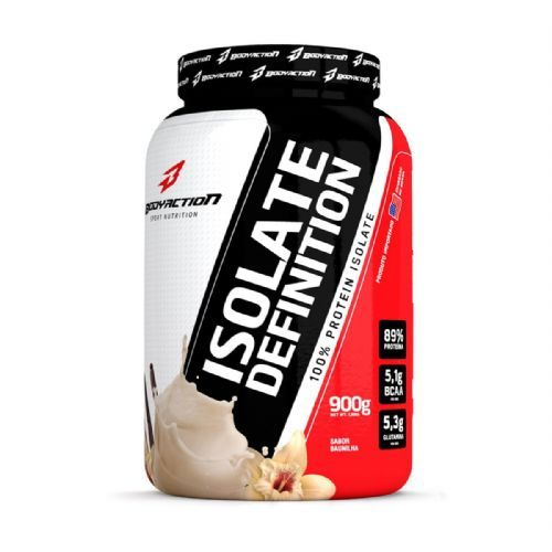 Whey Isolate Definition - 900g Baunilha - BodyAction no Atacado