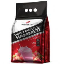 Whey Muscle Hammer - Morango 1800g - BodyAction