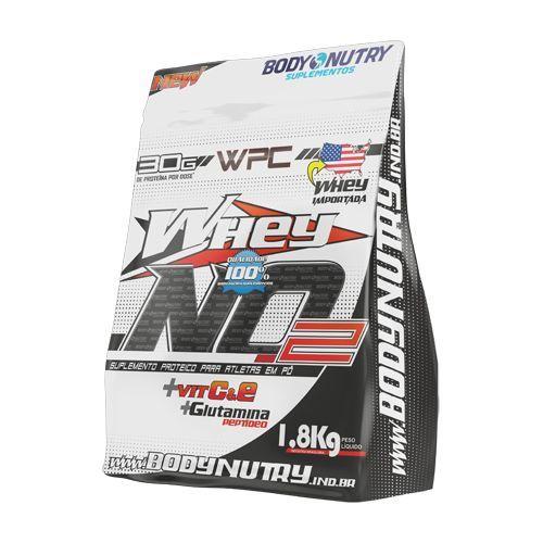 Whey NO2 Vit C & E - 1800g Refil Chocolate - Body Nutry*** Data Venc. 09/11/2017