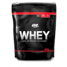 Whey ON 100% of Protein from Whey - 797g Refil Morango - Optimum Nutrition