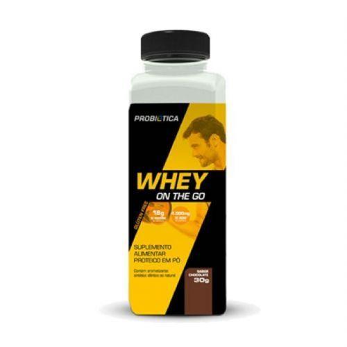 Whey On The Go - 30g Chocolate - Probiotica no Atacado
