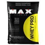 Whey Pro - 1500g Refil Baunilha - Max Titanium