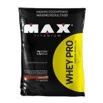 Combo 2 - Whey Pro 1500g Chocolate + BCAA + Porta Caps + Coqueteleira  - Max Titanium