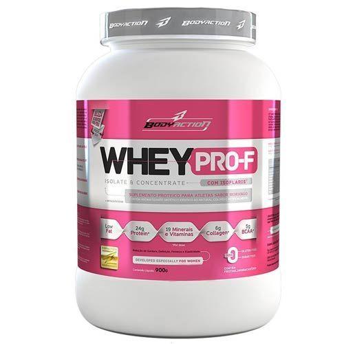 Whey PRO-F - 900g Chocolate - BodyAction