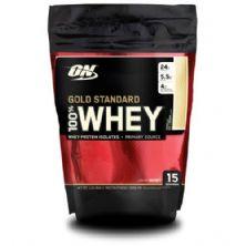 Whey Protein 100% Gold Standard - 454g Baunilha - Optimum Nutrition