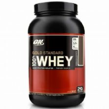 Whey Protein 100% Gold Standard - 909g Double Rich Chocolate - Optimum Nutrition