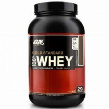 Whey Protein 100% Gold Standard - 909g Morango - Optimum Nutrition