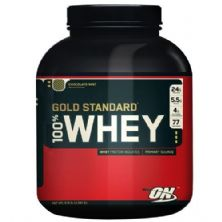 Whey Protein 100% Gold Standard - 2270g Morango - Optimum Nutrition