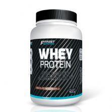 Whey Protein - 900g Chocolate Meio Amargo - Fitfast Nutrition