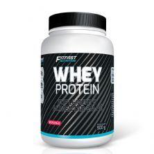 Whey Protein - 900g Morango - Fitfast Nutrition