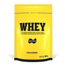 Whey Protein - 907g Refil Chocolate - Naturovos