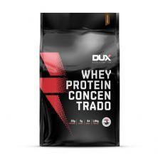 Whey Protein Concentrado - 1800g Refil Cappuccino - Dux Nutrition