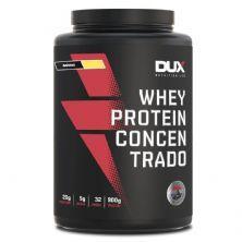 Whey Protein Concentrado - 900g Banana - Dux Nutrition