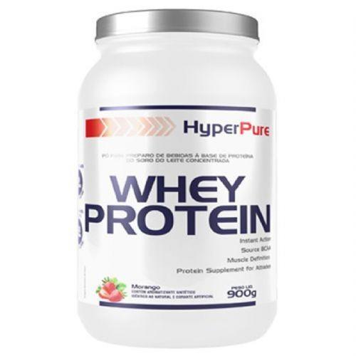Whey Protein Concentrado - 900g Morango - HyperPure no Atacado