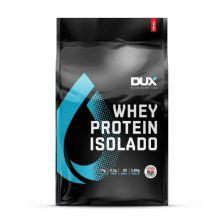 Whey Protein Isolado - 1800g Refil Morango - Dux Nutrition
