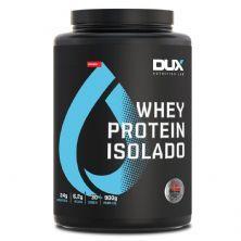 Whey Protein Isolado - 900g Morango - Dux Nutrition