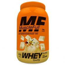Whey Quality - 810g Baunilha - MuscleFull