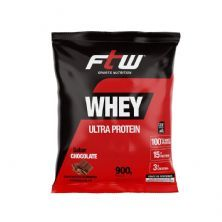 Whey Ultra Protein - 900g Refil Chocolate - FTW