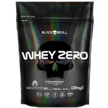 Whey Zero - 2000g Refil Strawberry - Black Skull