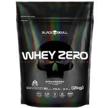 Whey Zero - 2000g Refil Strawberry - Black Skull